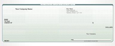 cheque printing missisauga